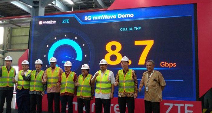 Smartfren Siap Uji Jaringan 5G di Indonesia